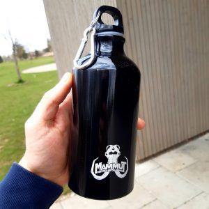 MAMMUT-Trinkflasche mit Lasergravur, Fassungsvermögen: 0,5l, Stückpreis: 8,00 EUR